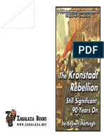 Kronstadt Rebellion 90th Anniversary Commemoration