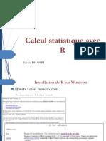 Calcul statistique R