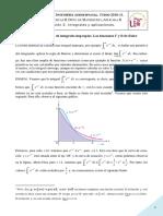 5. Convergencia de Integrales Impropias. Las Funciones Γ y Β de Euler.