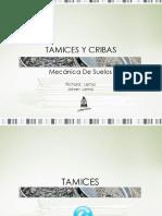 TAMICES Y CRIBAS