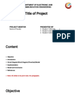 Sample PPT Miniproject