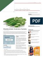 10 Benefícios Do Quiabo - Para Que Serve e Propriedades - MundoBoaForma.com.Br