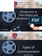 Intro Film & Broad Journalism #1