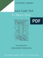 Bhavabhuti - Rama's Last Act (Clay Sanskrit Library) (2007).pdf