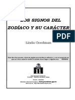 Goodman Linda - Los Signos Del Zodiaco