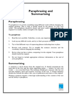 Paraphrasing and Summarizing.pdf