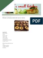 Deea's Small Kitchen_ Briose Cu Branza Dulce de Vaci Si Visine
