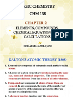 Chapter 2 Elements Compounds Chem Equations and Calculations