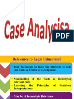 Case Analysis LM 1st Sem