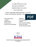 IPC LL.B. Assignment Proforma