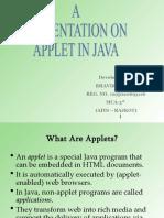 Applet java programs