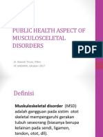 1 PUBLIC HEALTH ASPECT OF MUSCULOSCELETAL DISORDERS.ppt