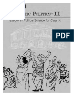 Democratic Politics 2nd part for NCERT Class 10
