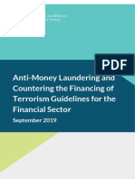 Anti Money Laundering and Countering the Financing of Terrorism Guidelines for the Financial Sector