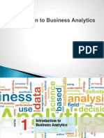 Business Analytics Mba