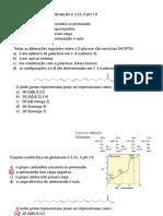 Exercícios Bioquímica Revisão