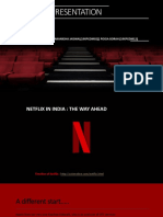 Netflix in India-The Way Ahead