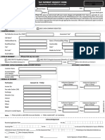 Tax Payment Request Form New Semi Editable