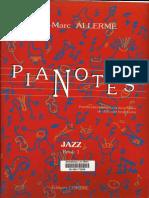 Pianotes Jazz Book1 - Allerme