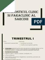 Diagnosticul Clinic Si Paraclinic Al Sarcinii 2018