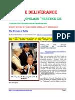 Kenneth Copeland ` Heretics Lie