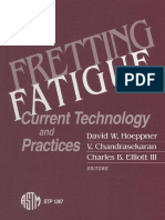 (American Society for Testing and Materials_ ASTM Special Technical Publication) David W Hoeppner_ International Symposium on Fretting Fatigue. _4, 1998, Salt Lake City, Utah&Gt - Fretting Fatigue _ c