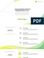 Clean business report Free powerpoint template - PPTMON (1).pptx