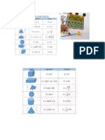 formulas matemáticas