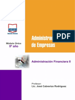 Adminis Financiera II MU 2017