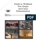 Guide to Wildland Fire Origin and Cause Determination