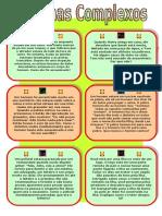 Atividade (Traduzida) Enigmas Complexos, Eixo Leitura