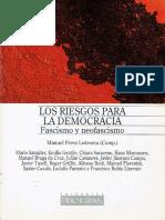 Perez Ledesma, Manuel (Comp.) - Los Riesgos Para La Democracia. Fascismo y Neofascismo [1997]