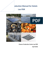 Cleaner Production Manual for Hotels Lao PDR