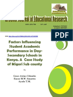 Students Academic performance