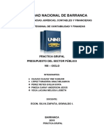 Practica Dirigida 1 Sobre Presupuesto Público Resolver en Forma Grupal
