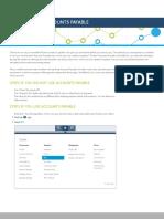 QBCU Study Guide-Track Accounts Payable