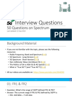 5G Interview Questions