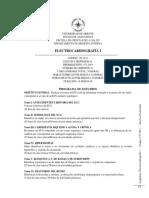 Electrocardiografía I