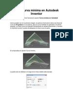 Documento Curva Minima y Bocetos Restricitivos inventor