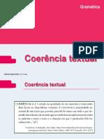 Coerencia Textual