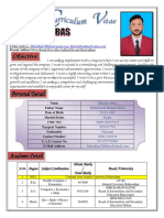 Ghulam Abbas Cv