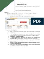 Examen de Excel VBA1