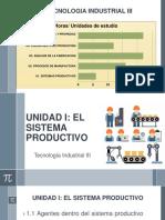 1.1 Agentes Dentro de Los Sistemas Productivos
