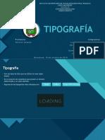 EXPOSICIÓN TIPOGRAFÍA