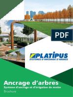 Platipus - Ancrage de Motte, haubanage et irrigation des arbres