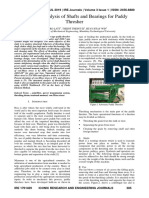 Structural Analysis of Shafts and Bearings for Paddy Thresher.pdf