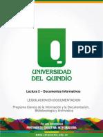 UNIDAD 3 - LECTURA 2 - Documentos Informativos