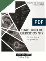 6566-GEF 14 - Cuaderno de Ejercitación N°7 Electricidad y Magnetismo.pdf SA-7%