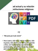 La sociedad actual y su relación con las religiones