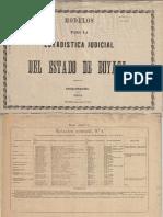 Estadistica Judicial Boyacá 1884
